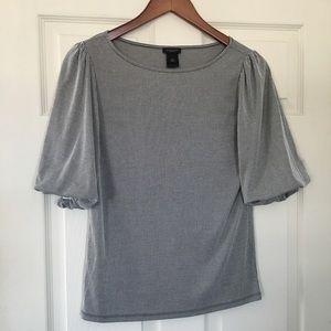 FINAL SALE! Ann Taylor factory striped shirt Sz XS
